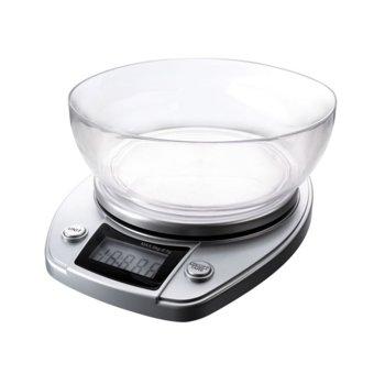 Кухненски кантар Gorenje KT 05 NS, дигитален, до 5кг, сензорно управление, LCD дисплей, автоматично изключване, сребрист image