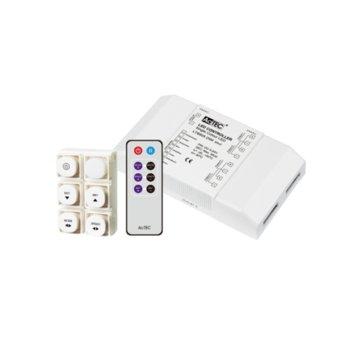 LED димер Actec LC-LT8905-RGB-IR, 432W, 5-24V DC, 18A, двуканален image