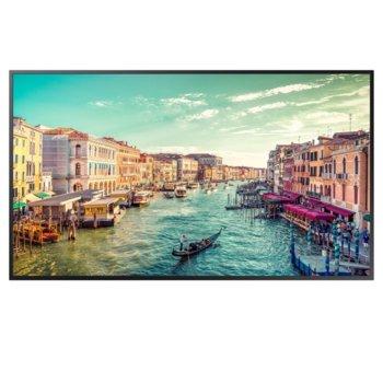 "Публичен дисплей Samsung LH49QMREBGCXEN, 49"" (124.46 cm) 4K UHD Edge LED BLU, Display Port, HDMI, DVI image"