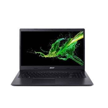 """Лаптоп Acer Aspire 3 A315-55G-341A (NX.HEDEX.005), двуядрен Whiskey Lake Intel Core i3-8145U 2.1/3.9 GHz, 15.6"""" (39.62 cm) Full HD Anti-GLare Display & GF MX230 2GB, (HDMI), 8GB DDR4, 256GB SSD, 1x USB 3.0, Linux, 2.1 kg  image"""