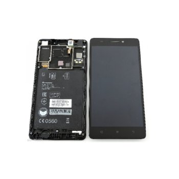 Lenovo A7000 LCD Original touch with frame Black product