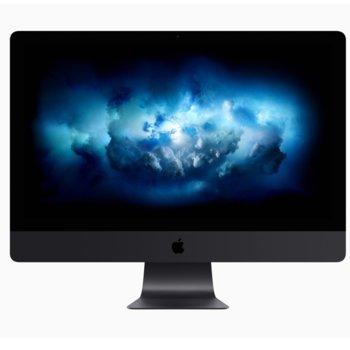 "All in One компютър Apple iMac Pro 27 (Z0UR000ZV/BG), осемядрен Intel Xeon W-2145 3.2/4.2GHz, 27""(68.58 cm) 5K Retina дисплей, 32GB RAM DDR4, 1TB SSD, 4x Thunderbolt 3 (USB-C), клавиатура и мишка, High Sierra image"