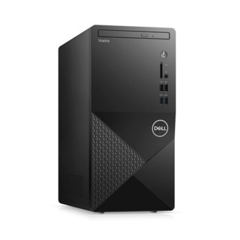 Настолен компютър Dell Vostro 3888 MT (N607VD3888EMEA01_2101_M), осемядрен Comet Lake Intel Core i7-10700F 2.9/4.8 GHz, nVidia GeForce GT 730 2GB GDDR5, 8GB DDR4, 512GB SSD, 4x USB 3.1, Windows 10 Pro  image
