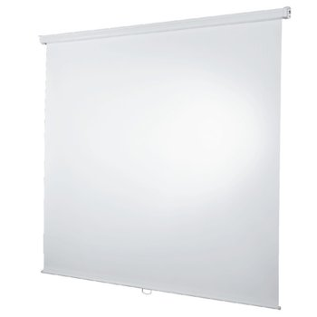 Екран, Hama за стена 180x180 cm Roller projection screen, image