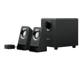 Logitech 2.1 Speakers Z213 - wood product