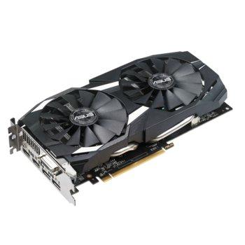Видео карта AMD Radeon RX 580 OC, 8GB, Asus DUAL-RX580-O8G, PCI-E 3.0, GDDR5, 256 bit, Display Port, HDMI, DVI image