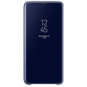 Калъф за Samsung Galaxy S9 + Clear View Standing Cover EF-ZG965CLEGWW, син image