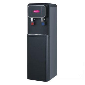 Диспенсър за вода Royal YLR2-5-X107L Gloss, защита от прегряване, долно отделение за бутилка, 640W нагревател, черен гланц image