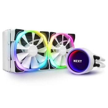 Водно охлаждане за процесор NZXT Kraken X53 RGB (RL-KRX53-RW), съвместимост със сокети Intel 1200/115X/1366/2011/2011-3/2066 & AMD AM4 image