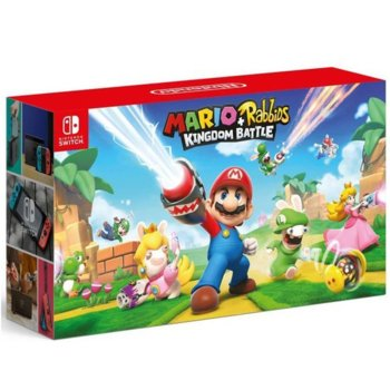 Nintendo Switch + Mario and Rabbids product