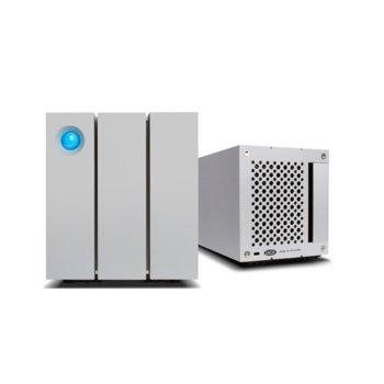 Твърд диск 8TB, LaCie 2big STEY8000200, външен, Thunderbolt 2, USB 3.0, сребрист image