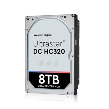 "Твърд диск 8TB HGST Ultrastar DC HC320 HUS728T8TAL5201(0B36406), SAS 12Gb/s, 7 200 rpm, 256MB кеш, 512e sector size(TCG Encryption), 3.5"" (8.89 cm) image"