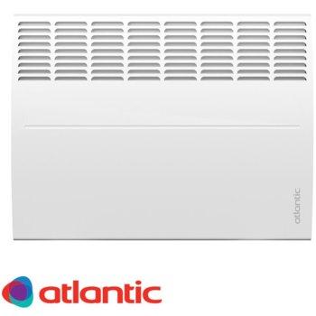 Конвектор Atlantic F119 DESING, oтопляема площ 22 м², електронен термостат, включени в комплекта крачета за подов монтаж, kласическо механично управление с градусна скала, автоматична защита от прегряване и изключване при падане, 2000W, бял image