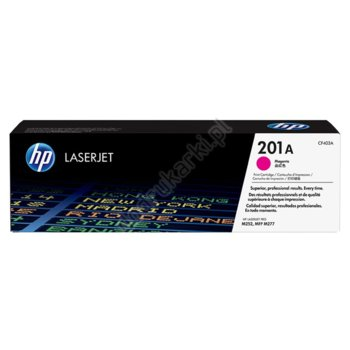 КАСЕТА ЗА HP Color LaserJet Pro M252 Printer series,MFP M277 series - Magenta 201A - № CF403A - заб.: 1400k image
