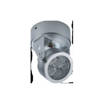 LED спот за монтаж на стена/таван, ORAX LCL-KDR42009-WW-BK, 3W, AC 220V, Топло бяла image