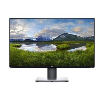 """Монитор Dell U3219Q, 31.5"""" (80.01 cm) IPS панел, 4K Ultra HD, 5ms, 400cd/m2, Display Port, HDMI, USB Type C image"""