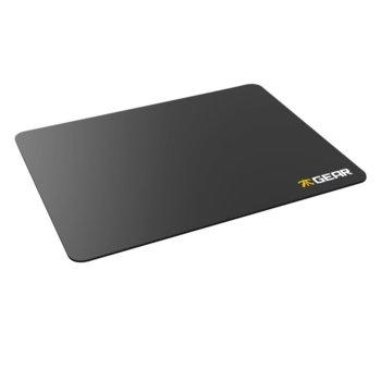 Подложка за мишка Fnatic Gear Focus L, гейминг, черна, 340 x 260 x 3mm image