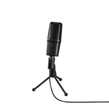 Микрофон Hama uRage MIC xStr3am Revolution, 3.5mm жак, USB, 2.5m кабел, черен image