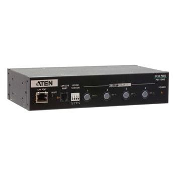 IP управляем контролер за електрозахранване ATEN PE4104G, 4x IEC 320 C13, черен image