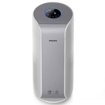 Пречиствател на въздух Philips AC2958/53, 46 W, филтър, за помещения до 39 m2, 4 режима, 330 м³/н поток на въздуха, смарт, сив image
