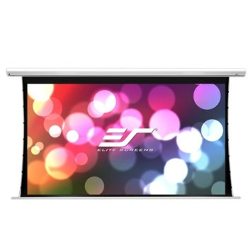 "Екран Elite Screens Saker SK120XHW-E10, за стена, White, 2657 x 1496 мм, 120"" (304.8 cm), 16:9 image"