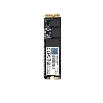 Памет SSD 240GB, Transcend JetDrive 820, AHCI PCIe Gen3 x2, M.2 (2280), скорост на четене 950 MB/s, скорост на запис 950 MB/s image