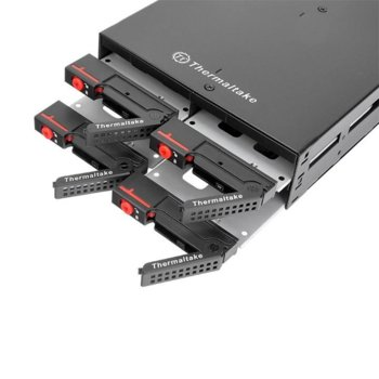 """Чекмедже (rack) за твърд диск Thermaltake Max 2504, 4 x 2.5"""" Multi Bay в 5.25"""" image"""