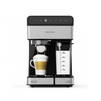 Кафемашина Cecotec 1558 Instant 20 Touch Nera Semi, 1350W, капацитет на резервоара за вода 1.4л., EasyTouch контролен панел, черна image