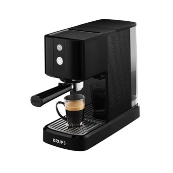 Кафемашина Krups Calvi automatic XP341010, 1460 W, 15 bar налягане, Automatic switch-off after 5 minutes, черна image