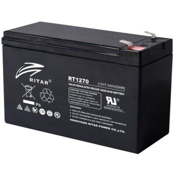 Акумулаторна батерия Ritar Power RT1270, 12V, 7Ah, AGM image