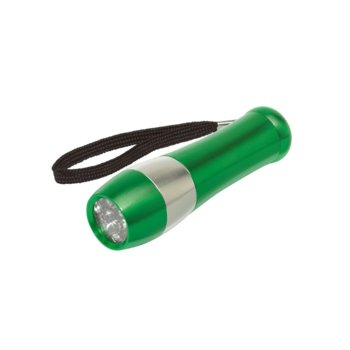 Фенер TOPS Dark Night, 9 LED светлини, зелен image