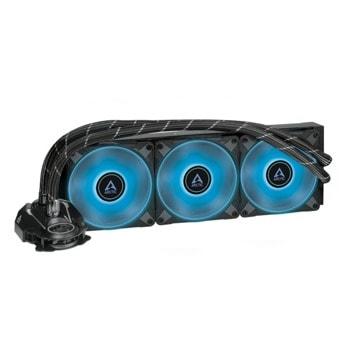 Водно охлаждане за процесор Arctic Freezer II RGB 360mm (ACFRE00097A), Intel LGA 1200 1150/1151/1155/1156/1366/2011/2011-3/2066 & AMD AM4 image