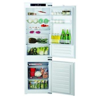 Хладилник с фризер Hotpoint-Ariston BCB 7030 E C1, клас F, 267L, за вграждане, 318 kWh/годишно, стомана image
