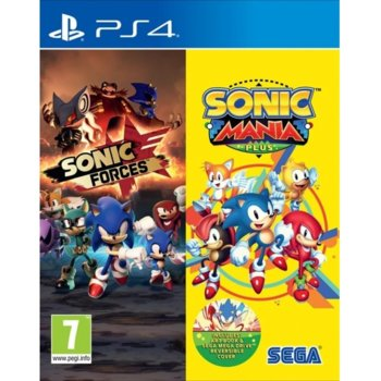 Sonic Mania Plus + Sonic Forces Double Pack (PS4) product
