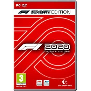 Игра F1 2020 - Seventy Steelbook Edition, за PC image