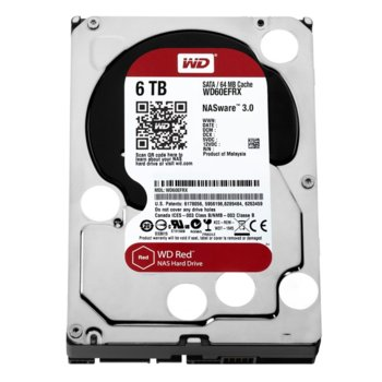 6TB WD Caviar Red SATA3 product