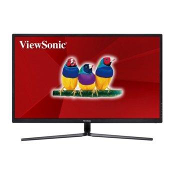 "Монитор ViewSonic ViewSonic VX3211-4K-MHD, 32"" (81.28 cm), VA панел, Ultra HD, 3ms, 80000000:1, 300cd/m2, DP, HDMI image"