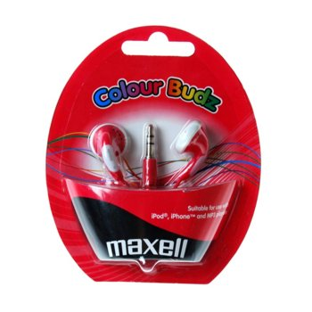 MAXELL color BUDS тапи (Red) product