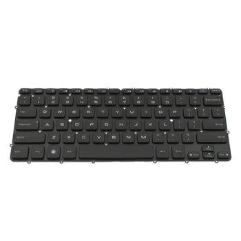 Клавиатура за лаптоп Dell, съвместима със серия XPS L321X L322X, черна, с подсветка, US image