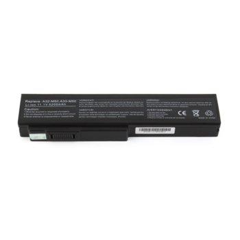 Батерия (заместител) за ASUS G50, съвместима с G60/L50/M50/M60/X55/X57/N52/N53/N61, 6cell, 11.1V, 5200mAh  image