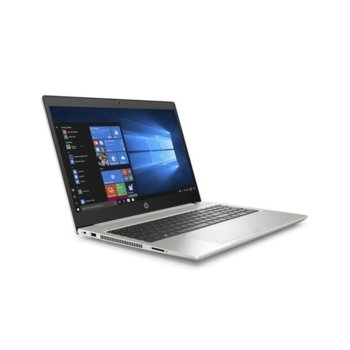 "Лаптоп HP ProBook 450 G7 (9TV50EA)(сребрист), четириядрен Comet Lake Intel Core i5-10210U 1.6/4.2 GHz, 15.6"" (39.62 cm) Full HD Anti-Glare Display & GF MX250 2GB, (HDMI), 8GB DDR4, 512GB SSD, 1x USB 3.1 Type-C, Free DOS image"