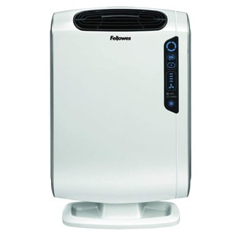 Пречиствател на въздух Fellowes DX55 Aeramax, за помещения до 36 m2, AeraSmart сензор, бял image