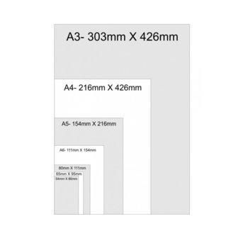 Фолио за ламиниране, размер 80x111 mm, 80 mic, 100бр. image