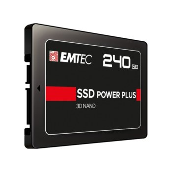 "Памет SSD 240GB Emtec Power Plus X150, SATA 6Gb/s, 2.5""(6.35 cm), скорост на четене 520 MB/s, скорост на запис 500 MB/s image"