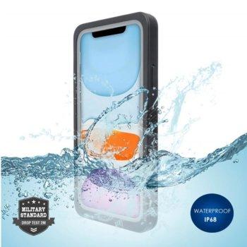 Калъф за Apple iPhone 11 Pro, хибриден, 4Smarts Rugged Active Pro STARK 4S467512, удароустойчив, водоустойчив, черен image