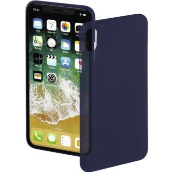 Калъф за Apple iPhone X, пластмаса, Hama Ultra Slim, син image