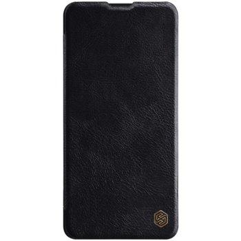 Калъф за Xiaomi Mi 9T, flip cover, кожен, Nillkin QIN Leather, луксозен, черен image