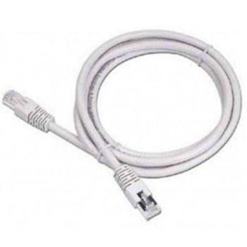 Пач кабел Gembird PP6-0.5M, FTP, Cat 6, 0.5м, сив image