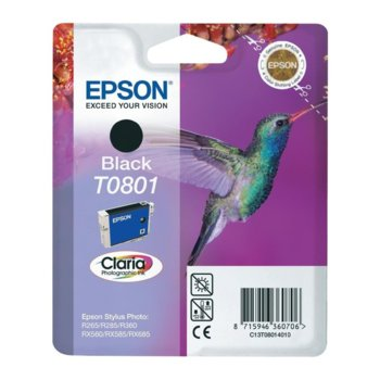 ГЛАВА ЗА EPSON STYLUS PHOTO R 265/R285/R360/RX560 - Black - P№ C13T08014010 image