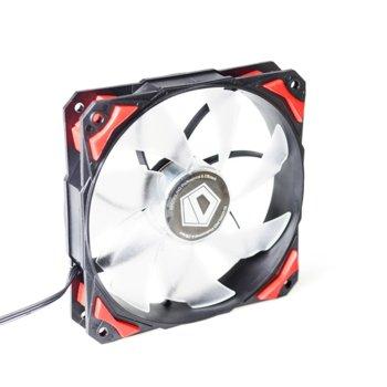 Вентилатор 120 mm ID-Cooling PL-12025-R, 4-пинов, 2200rpm image